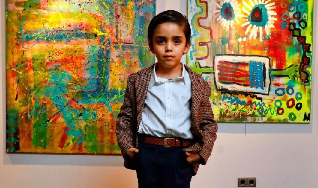 "Story of the day: 7 ετών ο ""Μικρός Πικάσο"" - Πουλάει για χιλιάδες ευρώ  τους πίνακες του & αφήνει άναυδο τον κόσμο της τέχνης (φώτο)  - Κυρίως Φωτογραφία - Gallery - Video"