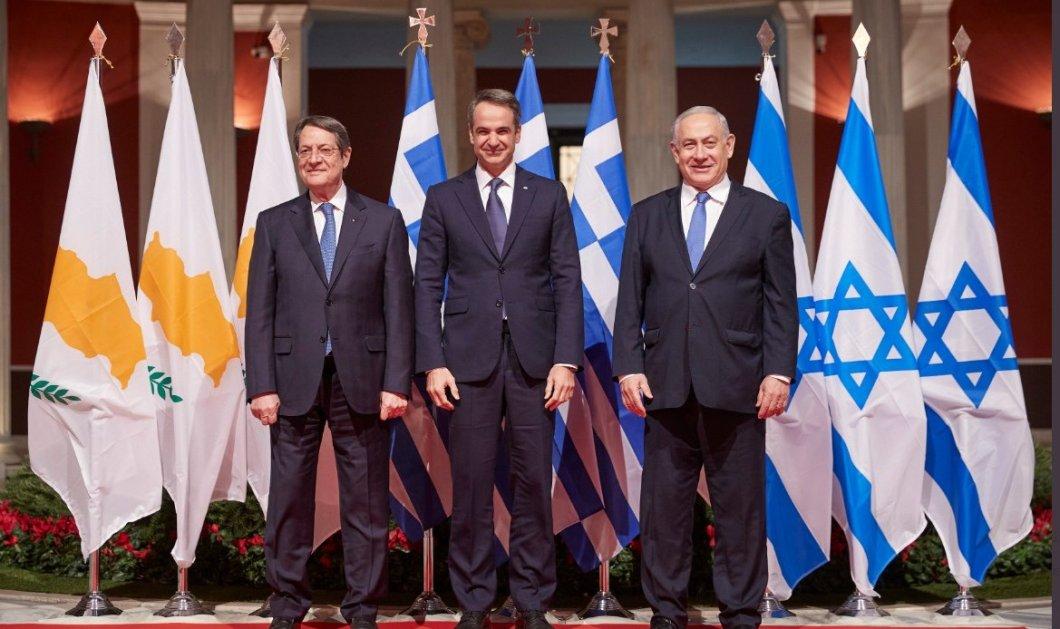 """Κυρ. Μητσοτάκης:""""Η συμφωνία για τον Eastmed δεν στρέφεται εναντίον κανενός - Πολλαπλά τα οφέλη για την Ελλάδα"""" (φώτο-βίντεο) - Κυρίως Φωτογραφία - Gallery - Video"""