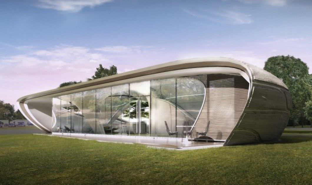 «Curve Appeal»: Το σπίτι του μέλλοντος - Ιδού πως θα μοιάζει το πρώτο εκτυπωμένο σε 3D διάσταση - Φώτο  - Κυρίως Φωτογραφία - Gallery - Video