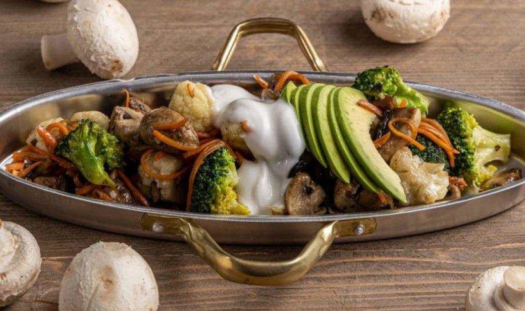 Η Αργυρώ Μπαρμπαρίγου δημιουργεί: Χειμωνιάτικη ζεστή σαλάτα λαχανικών με μπρόκολο & κουνουπίδι  - Κυρίως Φωτογραφία - Gallery - Video