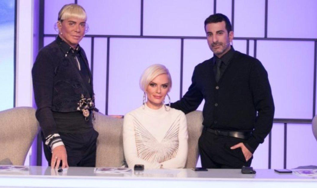 """Πως ντύθηκαν οι κριτές και η παρουσιάστρια στοMy Style Rocks: """"Chanel"""" η Στικούδη, μαύρη περούκα ο Γαβαλάς - Φώτο - Κυρίως Φωτογραφία - Gallery - Video"""