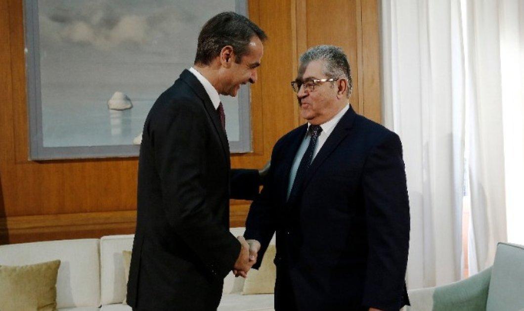 Ο πρωθυπουργός ολοκλήρωσε τον κύκλο συναντήσεων - Δ. Κουτσούμπας: Βρισκόμαστε στη δίνη σοβαρών εξελίξεων στην περιοχή μας - Κυρίως Φωτογραφία - Gallery - Video