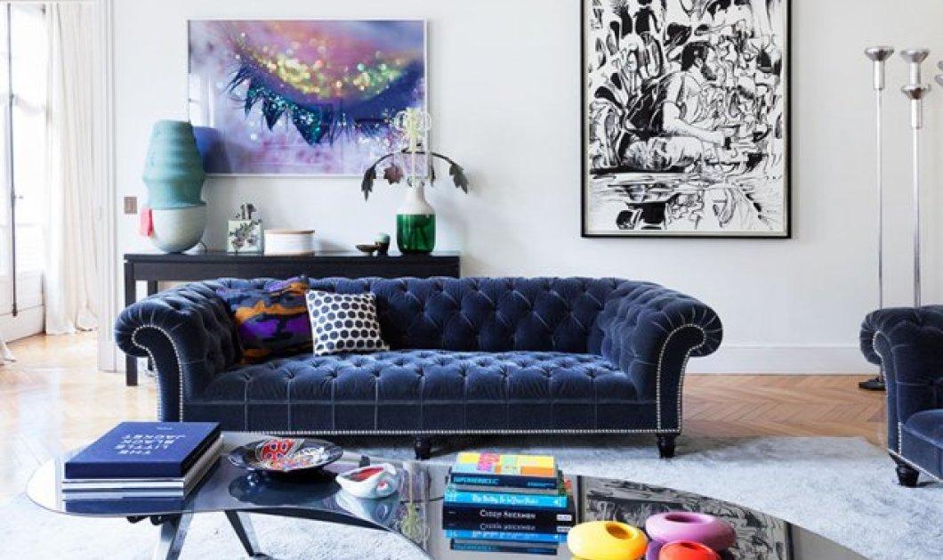 Ο Σπύρος Σούλης μας προτείνει 7 υπέροχες ιδέες για να βάλουμε το βελούδο στο σπίτι μας  - Κυρίως Φωτογραφία - Gallery - Video