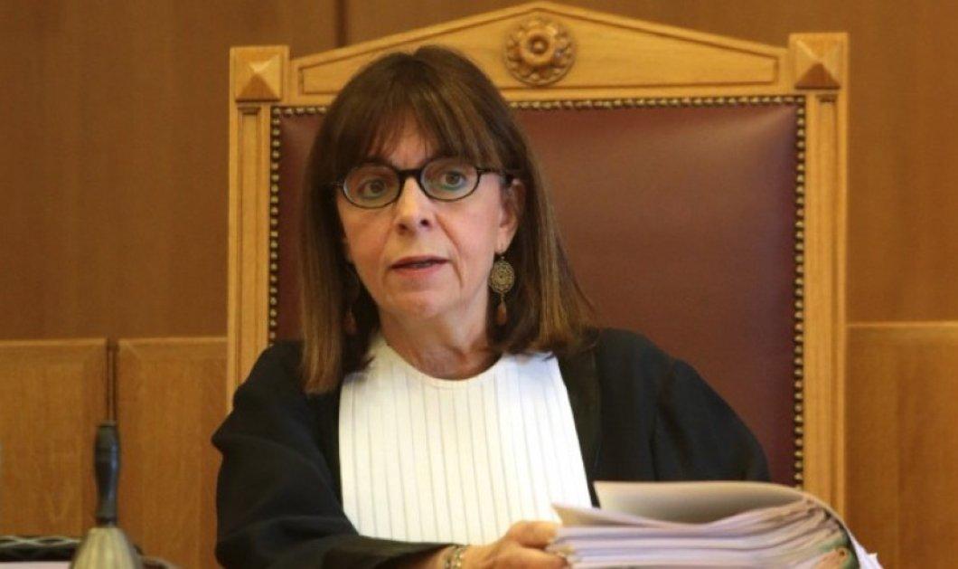 Αικατερίνη Σακελλαροπούλου: Με θρησκευτικό όρκο η ορκωμοσία της νέας Προέδρου της Δημοκρατίας - Κυρίως Φωτογραφία - Gallery - Video