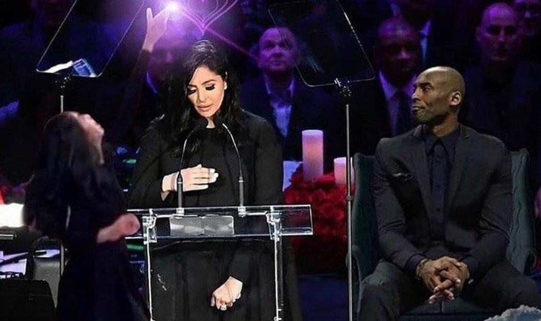 Η χήρα του Kobe Bryant συγκίνησε με την ομιλία της στην τελετή αποχαιρετισμού (φωτό - βίντεο) - Κυρίως Φωτογραφία - Gallery - Video