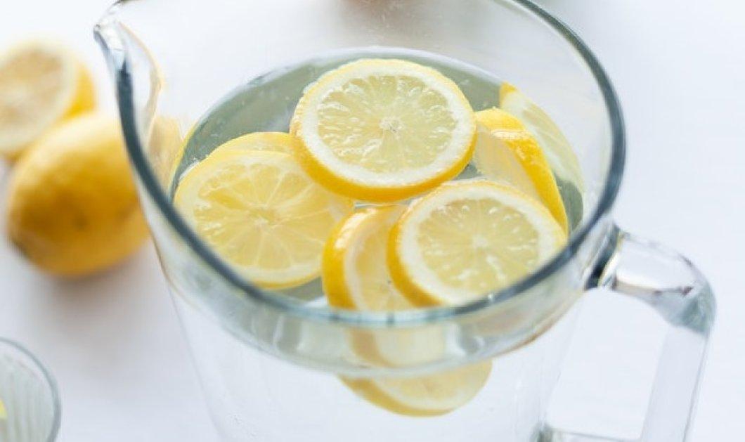 Θέλετε να βελτιώσετε την υγεία σας με φυσικό τρόπο; Πιείτε νερό με λεμόνι! - Κυρίως Φωτογραφία - Gallery - Video