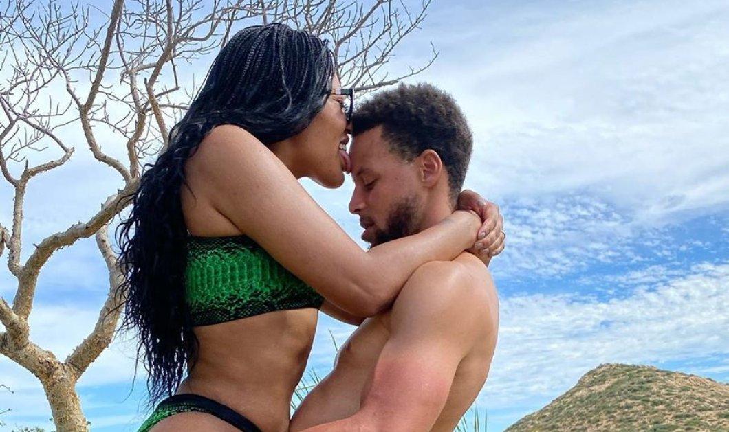 Έγιναν... viral: Ο Stephen Curry & η γυναικα τουAyesha πήγαν εξωτικές διακοπές &... το instagram αναστέναξε (βίντεο) - Κυρίως Φωτογραφία - Gallery - Video