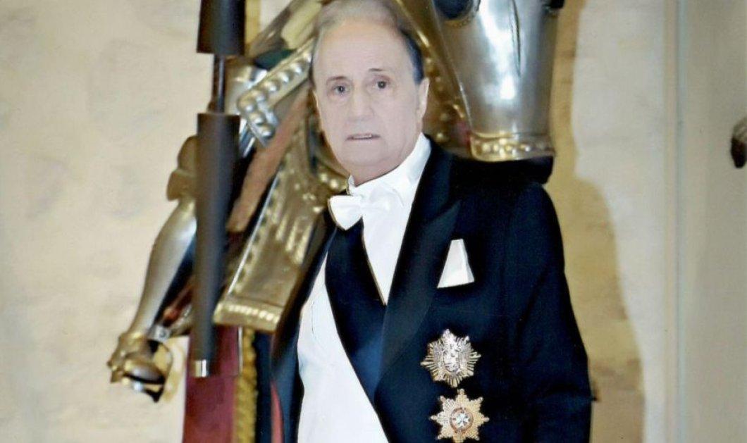 Γιώργος Λενός : Ο Έλληνας που έλαβε το χρίσμα του Ιππότη δια ξίφους από τον πρίγκιπα της Ισπανίας Ερρίκο (φωτό) - Κυρίως Φωτογραφία - Gallery - Video