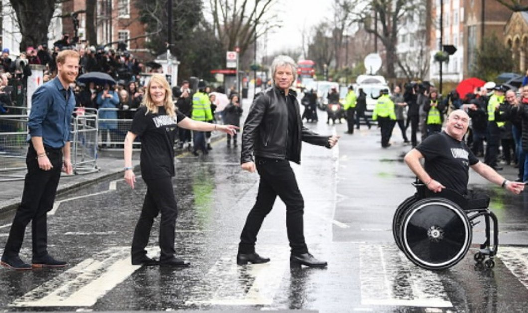 O Πρίγκιπας Harry rock star! Συναντά τον Bon Jovi και πάει γι άλλα! Ποιος δούκας του Sussex; (Φωτό) - Κυρίως Φωτογραφία - Gallery - Video