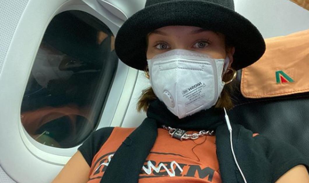 H Bella Hadid μας δείχνει την μάσκα που πρέπει να φοράμε όλοι λόγω κορωνοϊού, όταν ταξιδεύουμε (φωτό) - Κυρίως Φωτογραφία - Gallery - Video