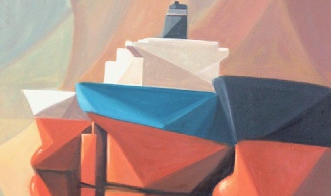 H έκθεση ζωγραφικής του Γιαννη Μίχα με καραβια στην Gallery ERSI - Κυρίως Φωτογραφία - Gallery - Video