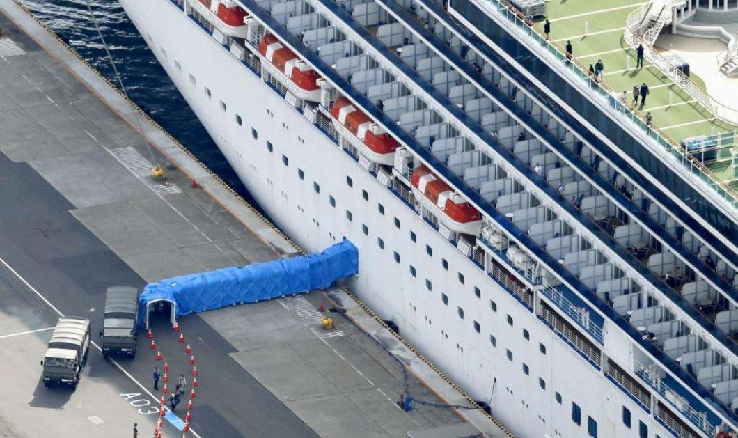 """Έφτασαν στο Σωτηρία οι δύο Έλληνες που βγήκαν από το κρουαζιερόπλοιο """"Diamond Princess"""" - Κυρίως Φωτογραφία - Gallery - Video"""