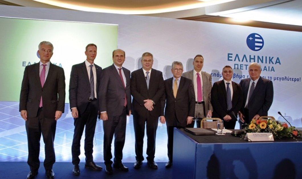 Συμφωνία - ορόσημο από την ΕΛΠΕ για τη δημιουργία γιγάντιου Πάρκου Φωτοβολταϊκών - Κυρίως Φωτογραφία - Gallery - Video