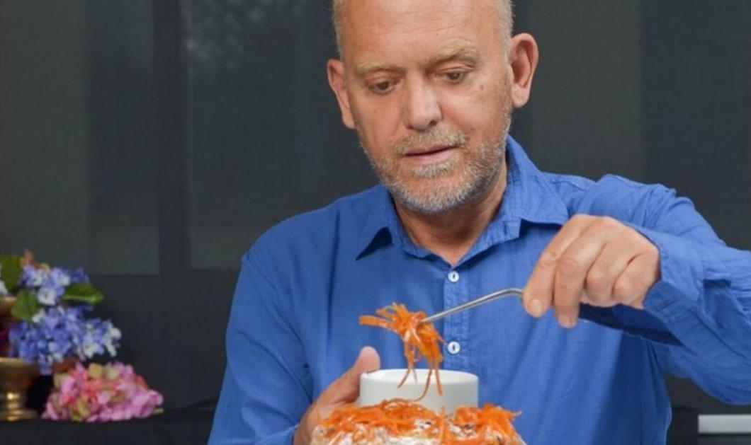 Στέλιος Παρλιάρος: Ο βασιλιάς της ελληνικής ζαχαροπλαστικής ετοιμάζει πάρτι για τα 40 χρόνια του στα γλυκά (φωτό) - Κυρίως Φωτογραφία - Gallery - Video