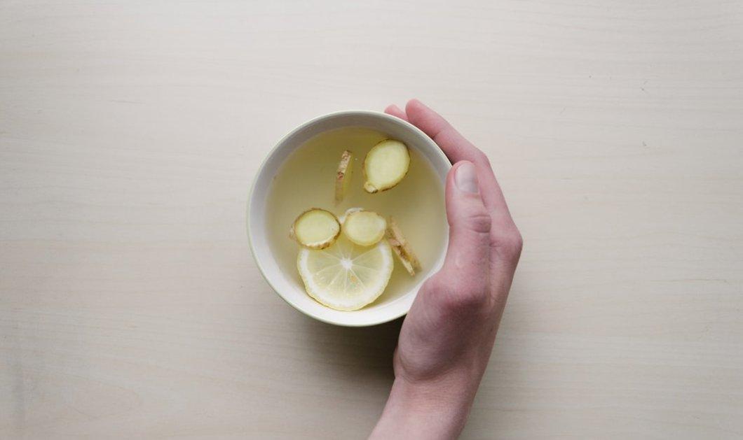 Γιατί να πίνεις νερό με τζίντζερ: Ποια τα οφέλη του για την υγεία;  - Κυρίως Φωτογραφία - Gallery - Video