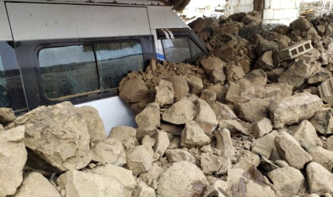 Νέος ισχυρός σεισμός στην Τουρκία – Εκατοντάδες εγκλωβισμένοι  - Κυρίως Φωτογραφία - Gallery - Video