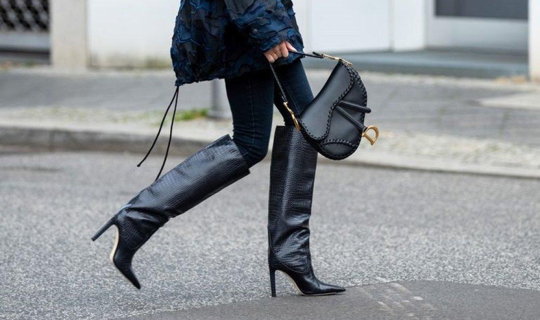 Κομψά λεπτά τακούνια ή τρακτερωτά μποτίνια; 4 τάσεις που θα κυριαρχήσουν στα παπούτσια του 2020 (ΦΩΤΟ) - Κυρίως Φωτογραφία - Gallery - Video
