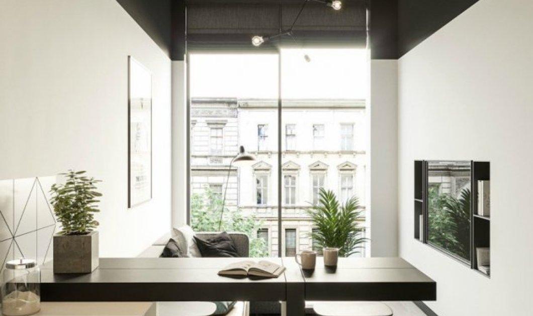 Ο Σπύρος Σούλης μας δείχνει ένα όμορφο διαμέρισμα 50 τμ: Υπέροχη διακόσμηση και απλότητα που θα σας συναρπάσει - Κυρίως Φωτογραφία - Gallery - Video