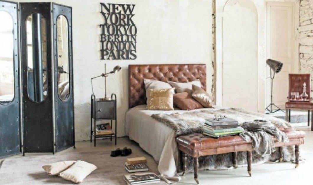 """Σπύρος Σούλης: Έτσι θα δώσετε """"cosy"""" ύφος στο """"industrial"""" υπνοδωμάτιο σας- Ζεστή ατμόσφαιρα με 6 κινήσεις (φώτο) - Κυρίως Φωτογραφία - Gallery - Video"""