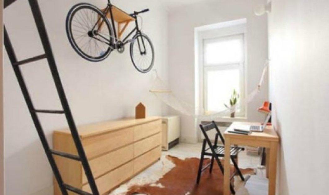 Ο Σπύρος Σούλης μας παρουσιάζει ένα μικροσκοπικό διαμέρισμα 13 τμ που δεν του λείπει τίποτα - Κυρίως Φωτογραφία - Gallery - Video