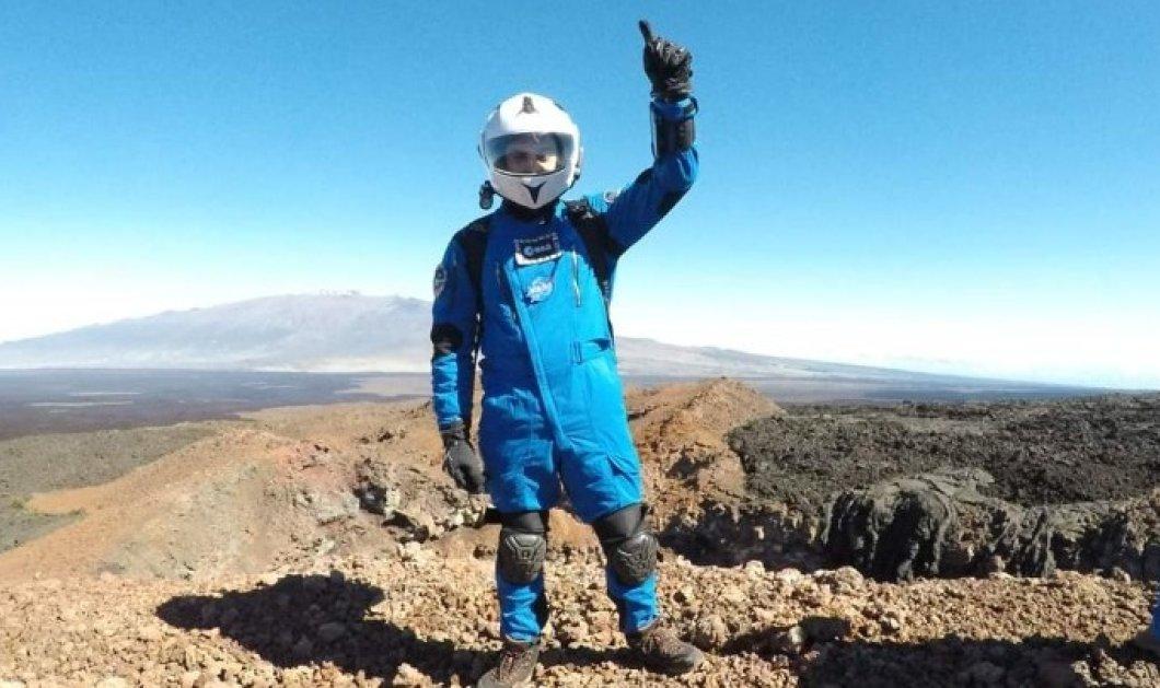 Έλληνας εκπαιδευόμενος αστροναύτης σε αποστολή προσομοίωσης του ESA - Κυρίως Φωτογραφία - Gallery - Video