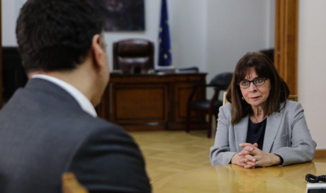 Στο Υπουργείο Υγείας η Κατερίνα Σακελλαροπούλου: Απόλυτα αναγκαίοι οι περιορισμοί που έχουν επιβληθεί - Κυρίως Φωτογραφία - Gallery - Video