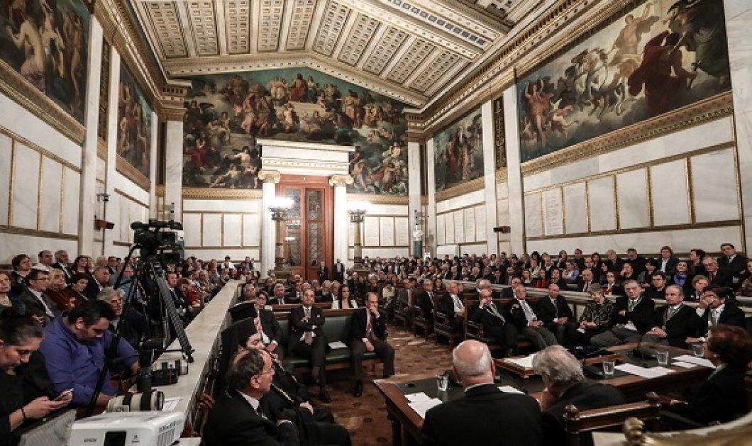 Βραβεία της Ακαδημίας Αθηνών σε τρεις άνδρες - Και χωρίς τελετή - Κυρίως Φωτογραφία - Gallery - Video