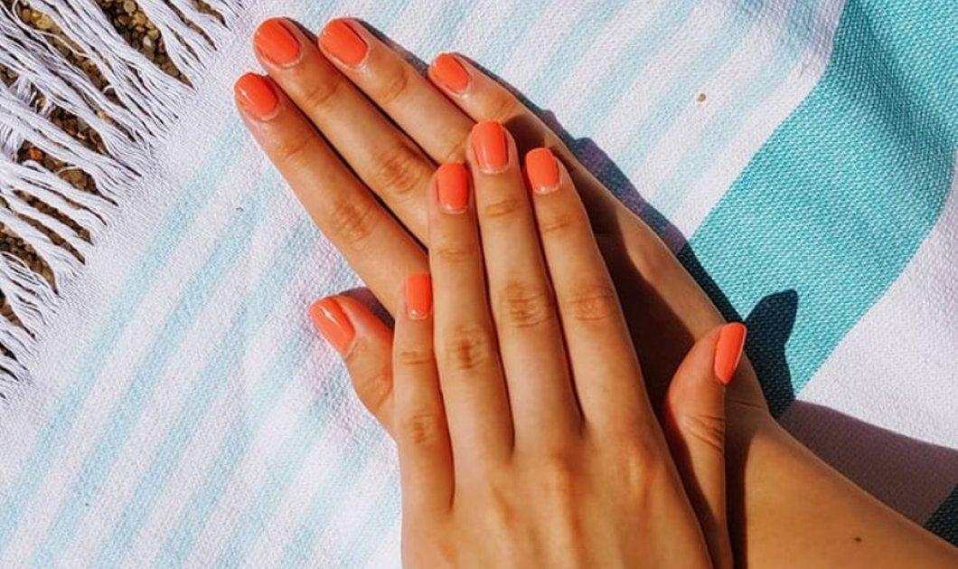 31 σχέδια για πορτοκαλί και ροδακινί νύχια που θα θελήσεις να αντιγράψεις - Κυρίως Φωτογραφία - Gallery - Video