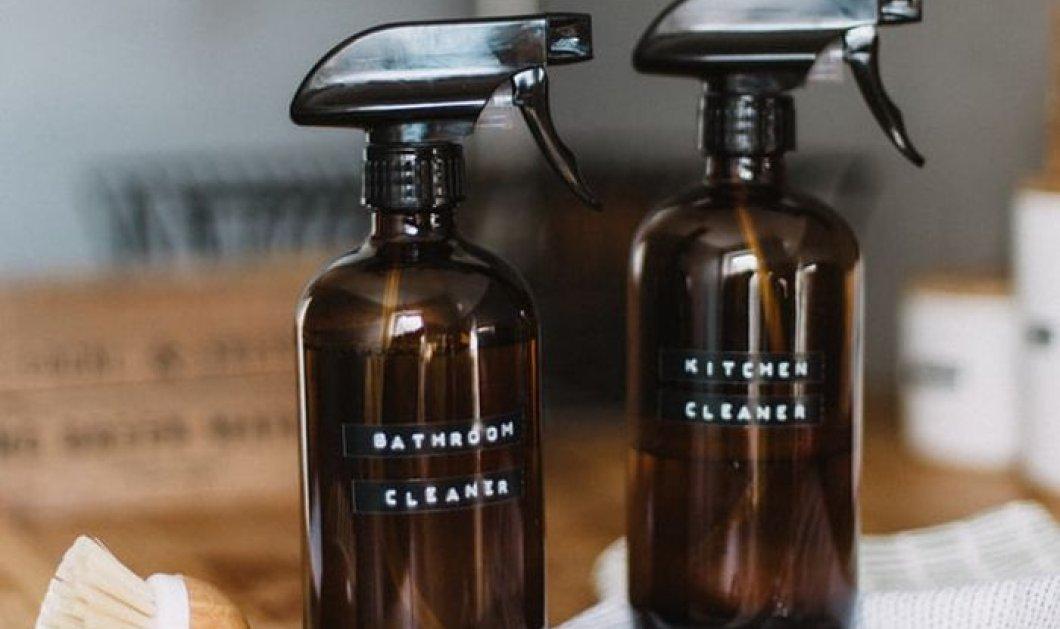 Ο Σπύρος Σούλης μας βοηθάει να φτιάξουμε καθαριστικό για νιπτήρες και πάγκους  - Για να αστράφτουν από καθαριότητα - Κυρίως Φωτογραφία - Gallery - Video