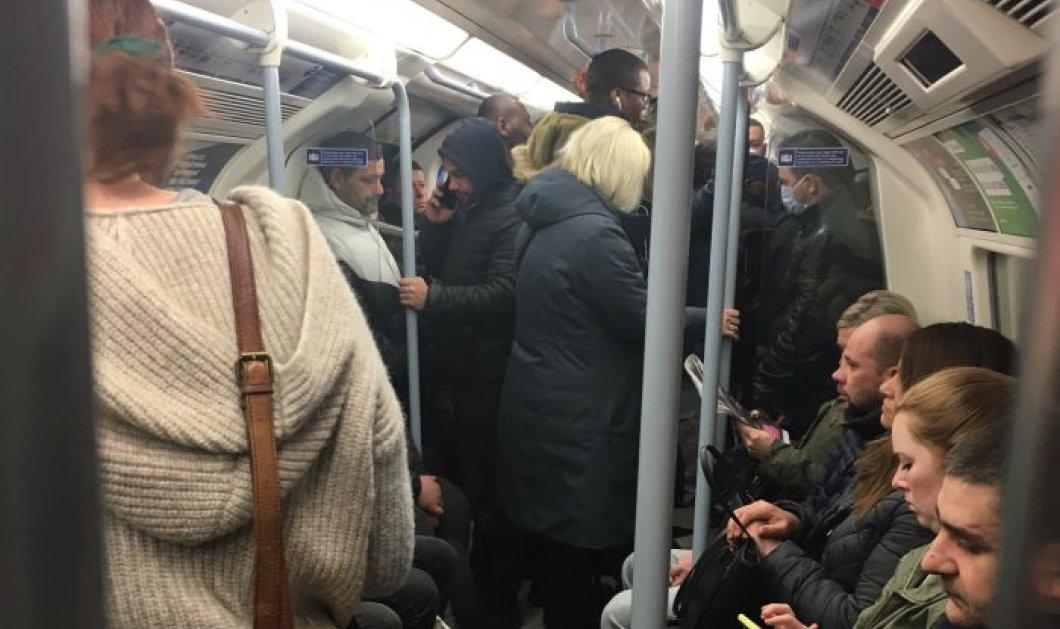 Κορωνοϊός - Αγγλία: Γεμάτο το μετρό του Λονδίνου από κόσμο – Κινούνται κανονικά χωρίς κανέναν φόβο (φωτό & βίντεο) - Κυρίως Φωτογραφία - Gallery - Video