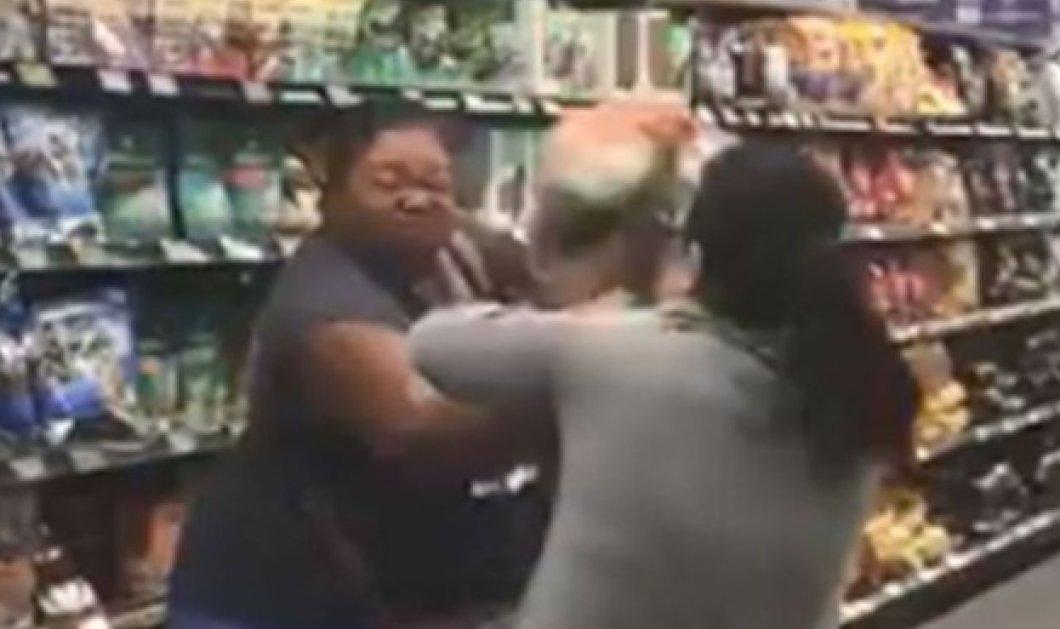 Κορωνοϊός: Τρεις γυναίκες πιάστηκαν στα χέρια μέσα στο σουπερμάρκετ - Το βίντεο έγινε viral! - Κυρίως Φωτογραφία - Gallery - Video