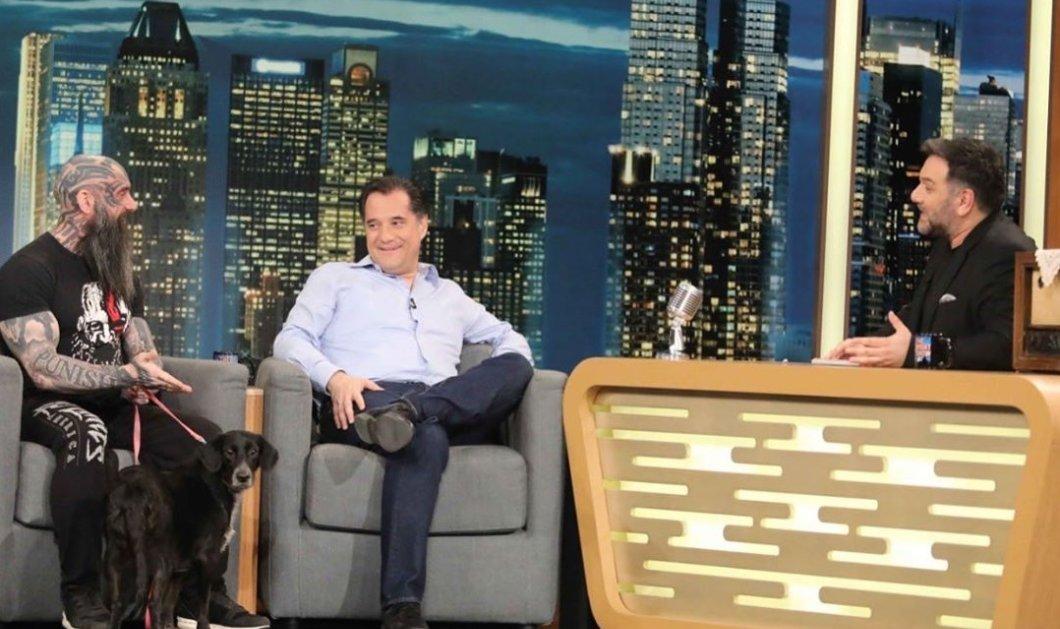 Ο Άδωνις Γεωργιάδης με τον φίλο του φιλόζωο Παναγιώτη Μήλα πήγαν & τα είπαν όλα στον Αρναούτογλου - Στα ύψη η τηλεθέαση (βίντεο) - Κυρίως Φωτογραφία - Gallery - Video