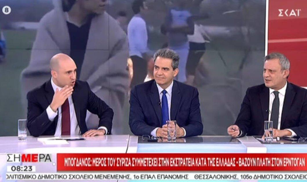 Βίντεο: Oταν πλακώθηκαν στον αέρα Βέττας-Μπογδάνος , όλοι λυπήθηκαν τον Συρίγο - Όσοι παίρνουν χάπια να τα παίρνουν στην ώρα τους… - Κυρίως Φωτογραφία - Gallery - Video