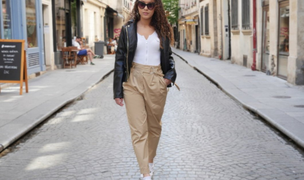 Trendy βραδινές εμφανίσεις με παντελόνι paper bag style  - Κυρίως Φωτογραφία - Gallery - Video