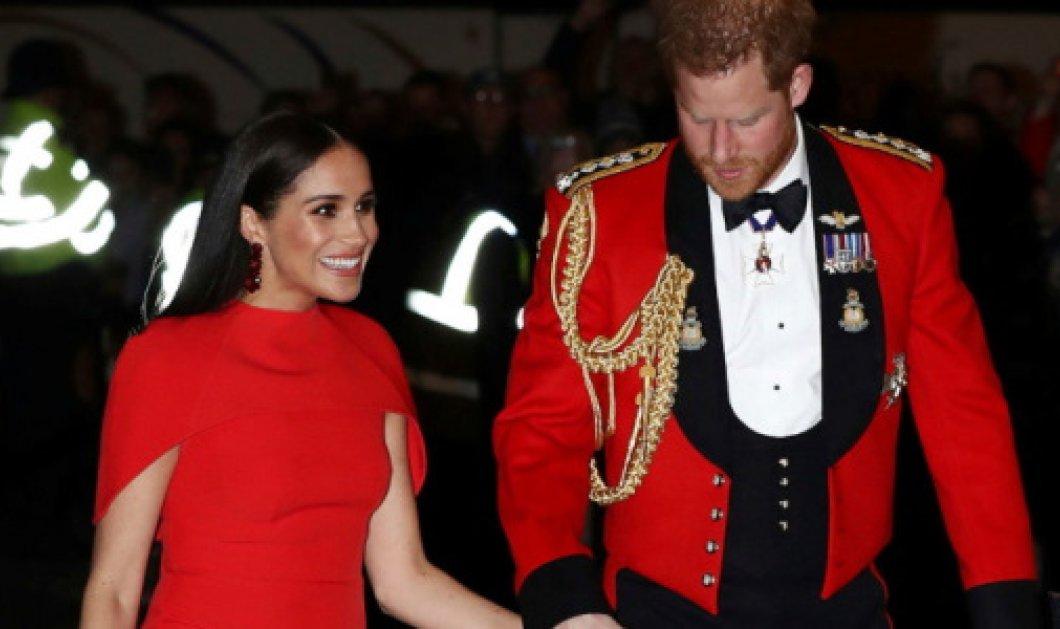Οι μάρκες του φορέματος των παπουτσιών του clutch & των σκουλαρικιών που έβαλε η Μέγκαν στο Royal Albert Hall - Κυρίως Φωτογραφία - Gallery - Video