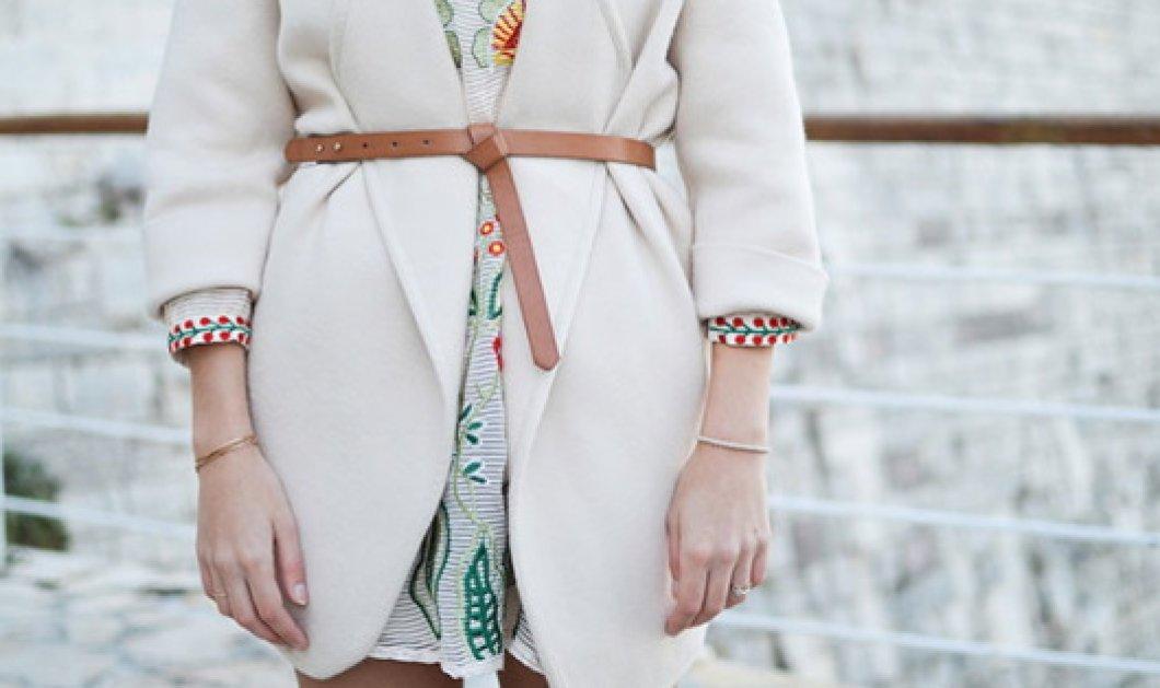 Στυλάτοι και πρωτότυποι τρόποι δεσίματος της ζώνης σε παλτό ή φόρεμα  - Κυρίως Φωτογραφία - Gallery - Video