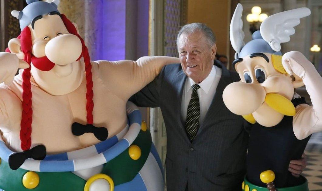 "Albert Uderzo: Έφυγε από τη ζωή σε ηλικία 92 ετών ο ""πατέρας"" του Asterix  - Κυρίως Φωτογραφία - Gallery - Video"