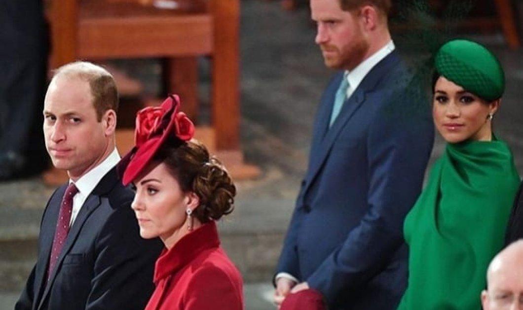 """Παγωμάρα στην πρώτη & """"τελευταία"""" συνάντηση William και Kate - Harry και Meghan: Στα κόκκινα η μία Δούκισσα, στα πράσινα η άλλη (φωτό - βίντεο) - Κυρίως Φωτογραφία - Gallery - Video"""