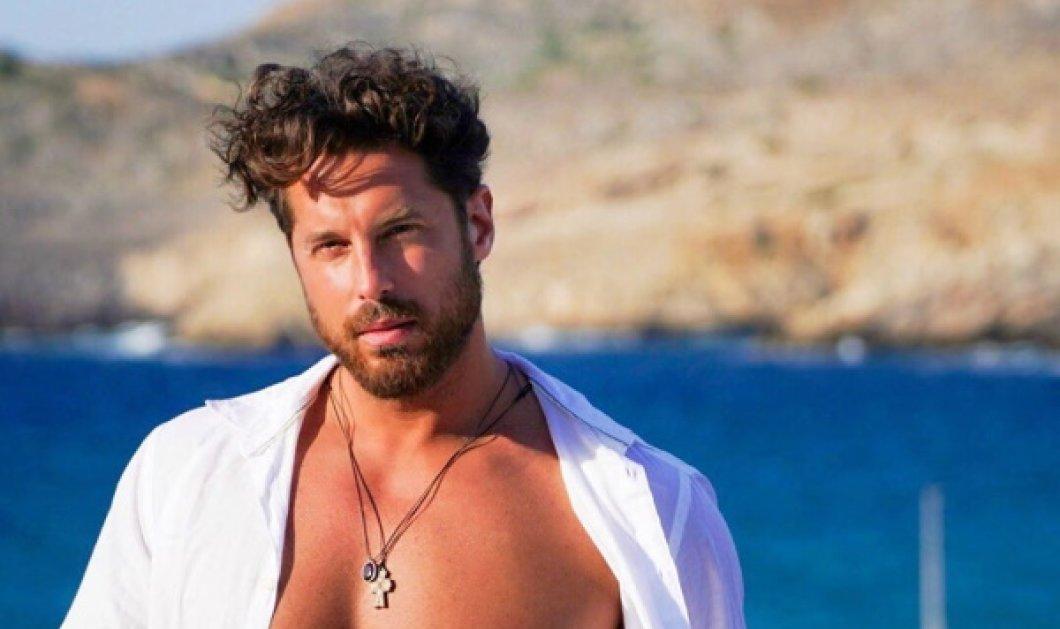 Ο Νάσος Παπαργυροπουλος παίζει & γυμνάζεται στην αμμουδιά - Με τα μούσια - μαλλιά μας θυμίζει το Survivor - Κυρίως Φωτογραφία - Gallery - Video