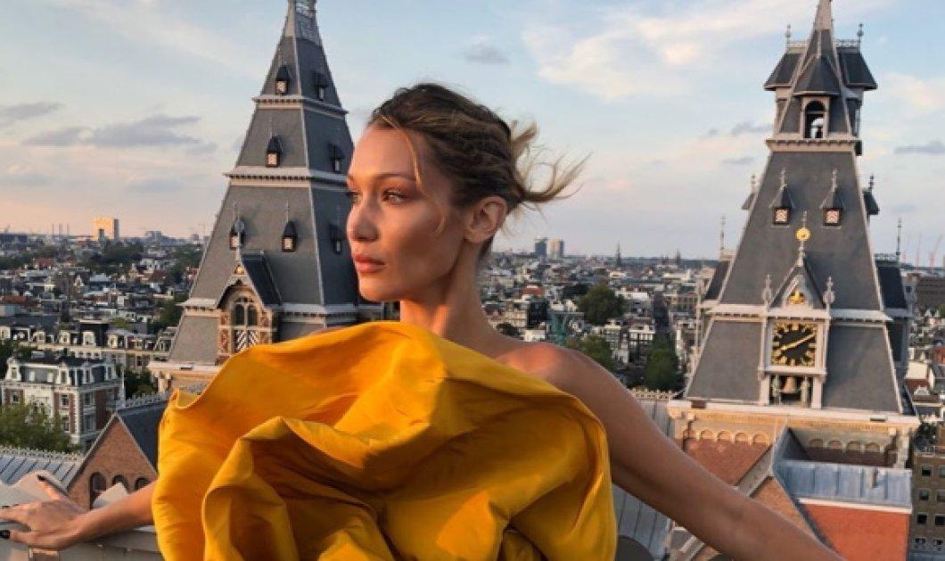 Επιτέλους η πανέμορφη Bella Hadid έβγαλε την «μάσκα» ομορφιάς - Έγινε κηπουρός & φύτεψε 1.500 λεβάντες (Φωτό & Βίντεο) - Κυρίως Φωτογραφία - Gallery - Video