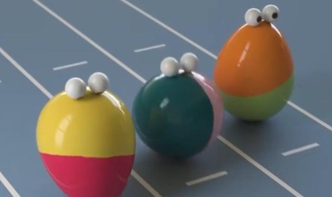 Βίντεο: Αυτά τα αβγά δεν είναι μόνο ωραία, αλλά έχουν μάτια & περπατάνε κιόλας! - Κυρίως Φωτογραφία - Gallery - Video