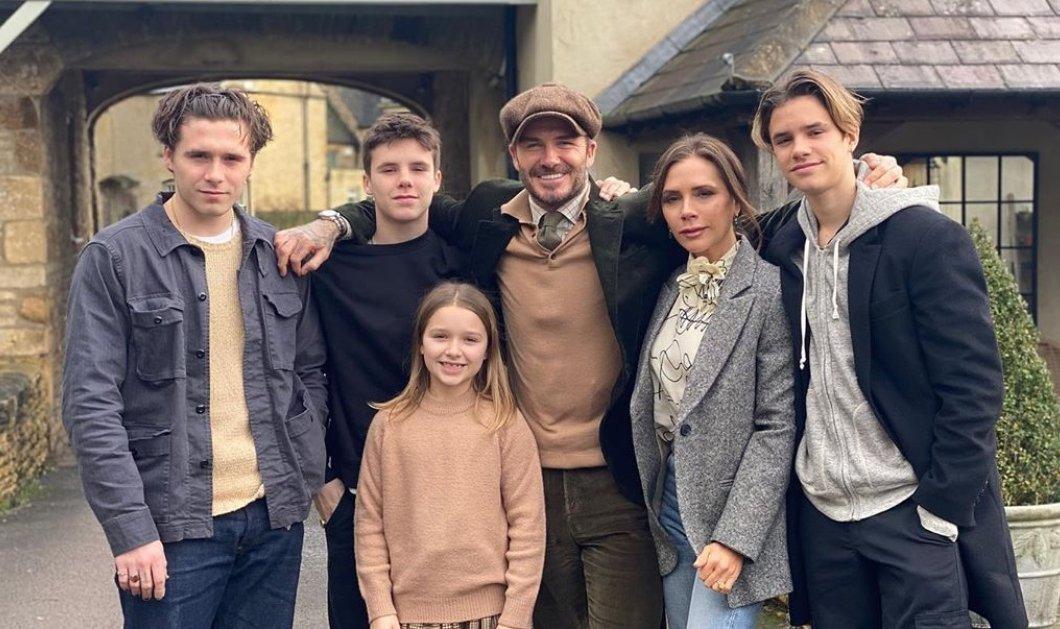 Τι τρώει η οικογένεια Beckham κατά τη διάρκεια της καραντίνας; Το κλασικό αγγλικό γεύμα & το αγαπημένο παγωτό του David από τα παιδικά του χρόνια (φωτό) - Κυρίως Φωτογραφία - Gallery - Video