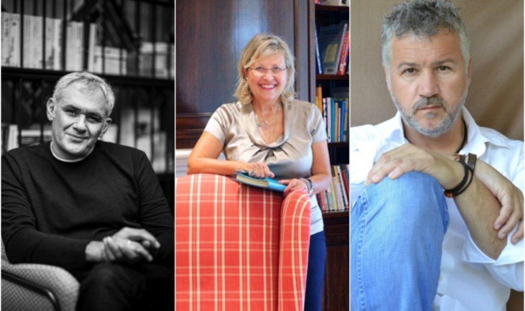 Απόψε συζητώ με τους συγγραφείς Στέφανο Δάνδολο, Σπύρο Πετρουλάκη & Κατερίνα Τσεμπερλίδου: Live Instagram at @irenenikolopoulou στις 19.00 - Κυρίως Φωτογραφία - Gallery - Video