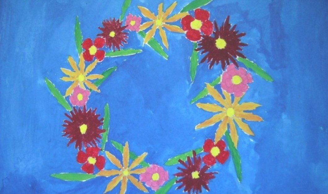 Αυτά τα υπέροχα πρωτομαγιάτικα στεφάνια τα έφτιαξαν η 10χρονη Ολυμπία, ο Μανώλης 3,5 ετών & η Ελένη 14 - Ποιο προτιμάτε; (φωτό) - Κυρίως Φωτογραφία - Gallery - Video