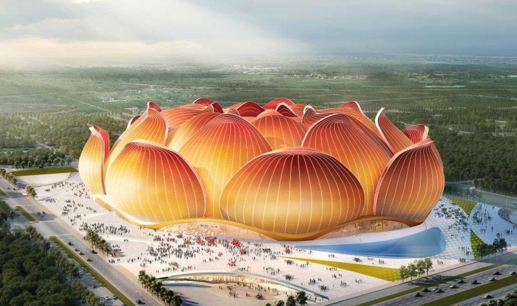 Σαν από παραμύθι: Το υπό κατασκευήν μεγαλύτερο γήπεδο ποδοσφαίρου στον κόσμο, μοιάζει με όνειρο (φωτο & βίντεο) - Κυρίως Φωτογραφία - Gallery - Video