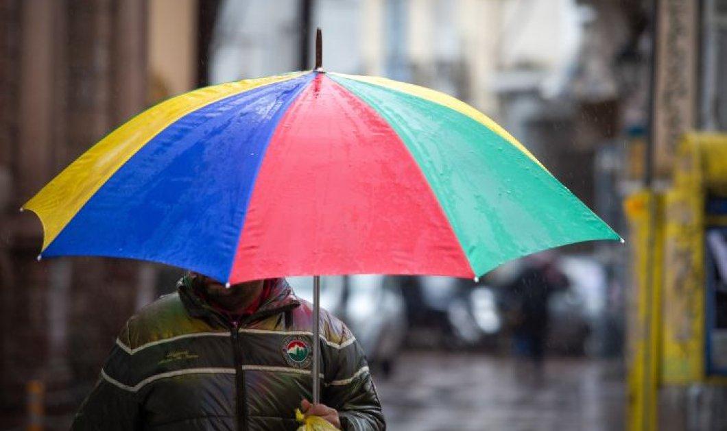 Χειμωνιάτικο το τοπίο για τέλος Απριλίου – Βροχές, χιονοπτώσεις και χαμηλές θερμοκρασίες - Κυρίως Φωτογραφία - Gallery - Video