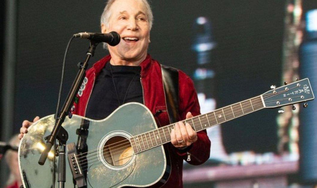 Ο δημοφιλέστατος  Paul Simon πήρε την κιθάρα του και τραγουδάει το  «I Wonder If I Care As Much» σε διασκευή για την εποχή του κορωνοϊού – Απολαύστε τον (βίντεο) - Κυρίως Φωτογραφία - Gallery - Video