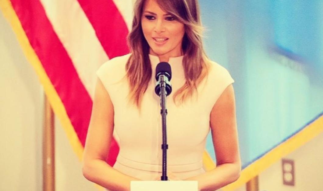 Η πρώτη κυρία της Αμερικής φοράει πάνινη μάσκα – Τι συστήνει η Μελάνια Τραμπ με καθυστέρηση βεβαίως - βεβαίως; (φωτό) - Κυρίως Φωτογραφία - Gallery - Video