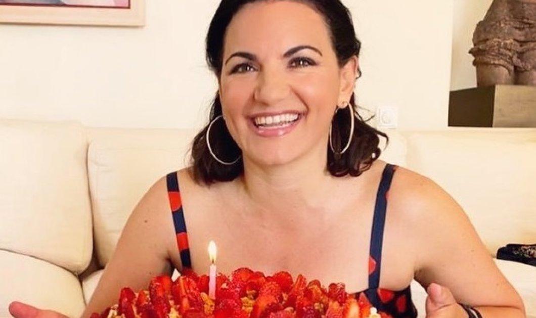 45 φράουλες στην τούρτα της όμορφης Όλγας Κεφαλογιάννη: Προχωράμε (φωτό) - Κυρίως Φωτογραφία - Gallery - Video