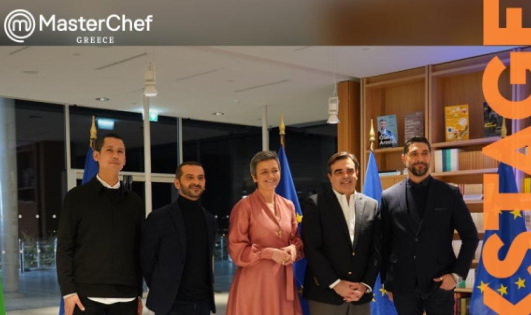 Το όνομα σας από pop έως βαρύ λαϊκό: Αυτό άκουσε ο Έλληνας επίτροπος Μαργαρίτης Σχοινάς να του λέει ο chef Κουτσόπουλος - Κυρίως Φωτογραφία - Gallery - Video